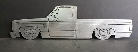 C10 Square Body Short Bed