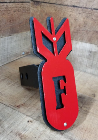 F Bomb Trailer Hitch Cover