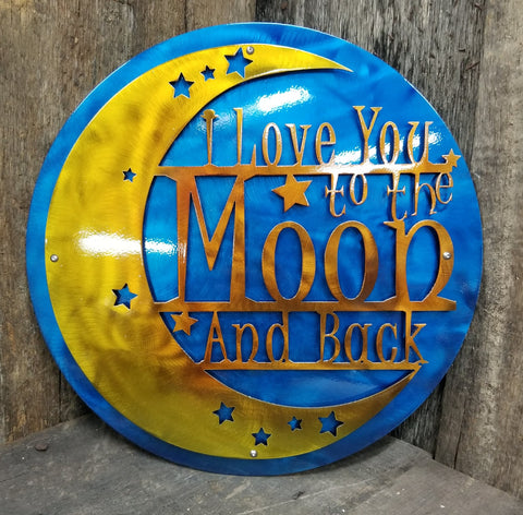 I Love You to The Moon 3d