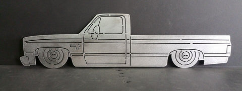 C10 Square Body Long Bed