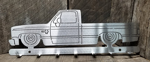Square Body C10 Key Hanger Short bed