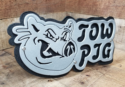 Tow Pig Trailer Hitch Cover
