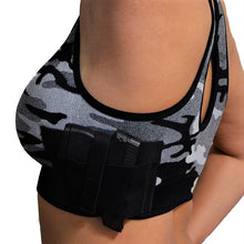 Concealed Carry Camo Sports Bra