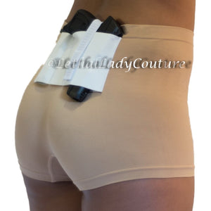 Nude Slimming Concealed Carry Boy Shorts