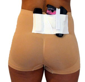 Nude Defining Concealed Carry Boy Shorts