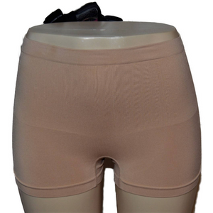 Nude with Black Holster Slimming Concealed Carry Boy Shorts