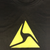 Axon T-shirt, Yellow Logo on Black