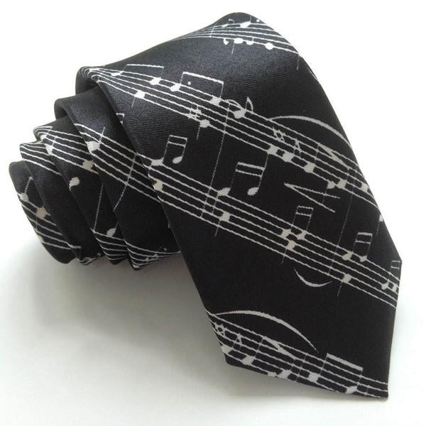 Musical Notes Tie