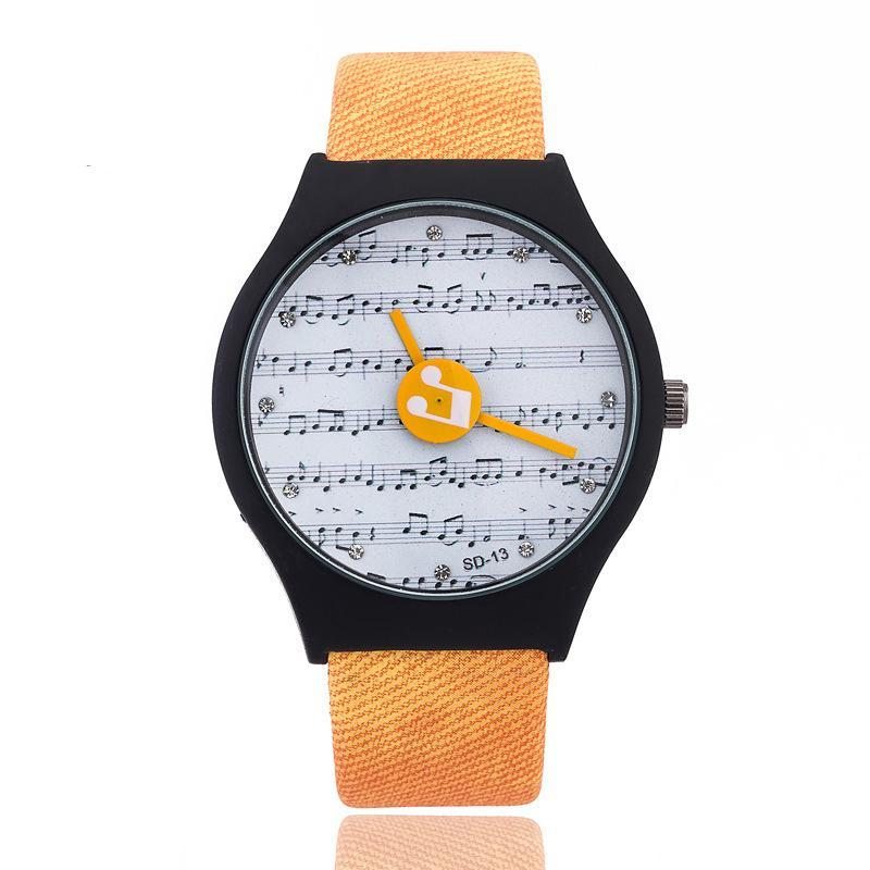 Musical Note Wristwatch