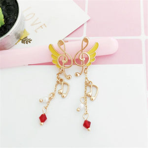 ELEGANT TREBLE STUD EARRING