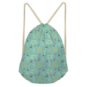 Musical Drawstring Bag