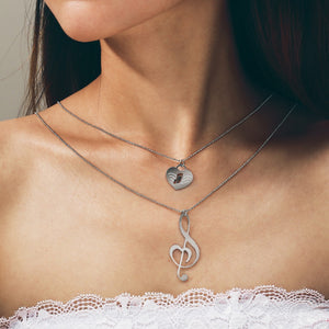 Treble Lover Layered Necklace