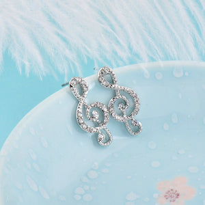 Musical Note Earrings