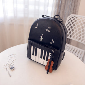Piano Keys Backpack