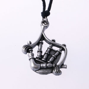 Vintage Bagpipe Necklace
