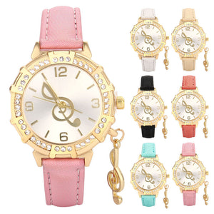 Female Treble Clef Watch