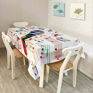 Musical Notes Table Cover