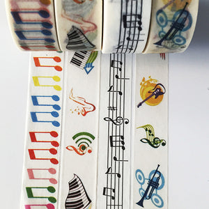 Unique Musical Notes Tape