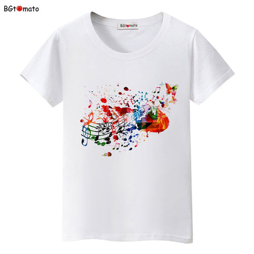 Splash Watercolor Music T-Shirt