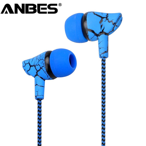 Sport Earphone Wired Headphones Super Bass 3.5mm Hands Free Headset for Samsung MP3 MP4