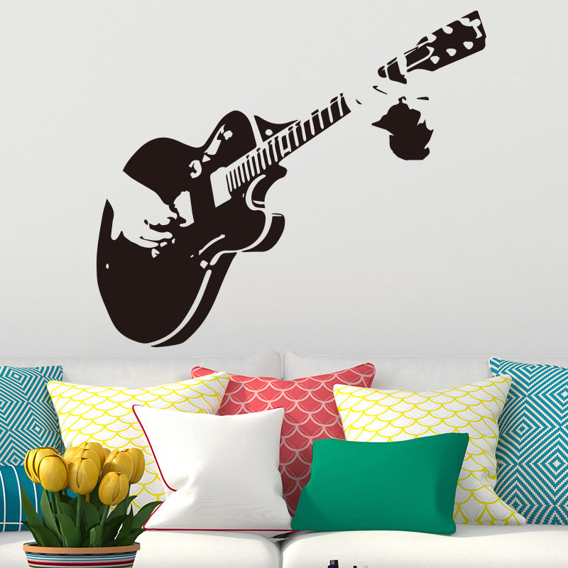 Guitar Vinyl Wall Sticker