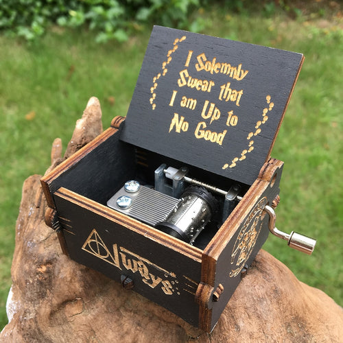 Hand Cranked Music Box, Many Variants That Play Popular Tunes From Frozen, Game Of Thrones, Star Wars & More