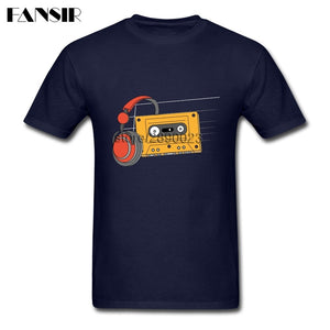 Video Tape 80's Style Music Men T Shirts P