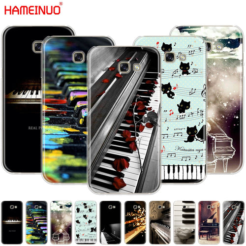 HAMEINUO Music Piano Themed Phone Cover for Samsung Galaxy A3 A310 A5 A510 A7 A8 A9 2016 2017 2018