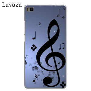 Lavaza Music Note Hard Phone Case for Huawei P20 P10 P8 P9 Lite Plus 2015 2016 2017 P20 Pro P