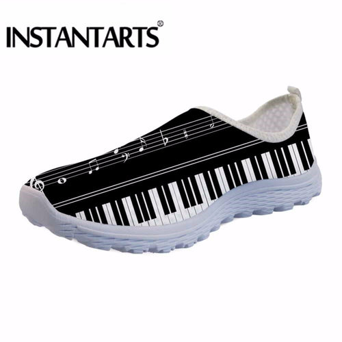INSTANTARTS Breathable Slip On Casual Shoes