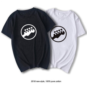 2018 Guitars Bass Player Music T-Shirt For Men