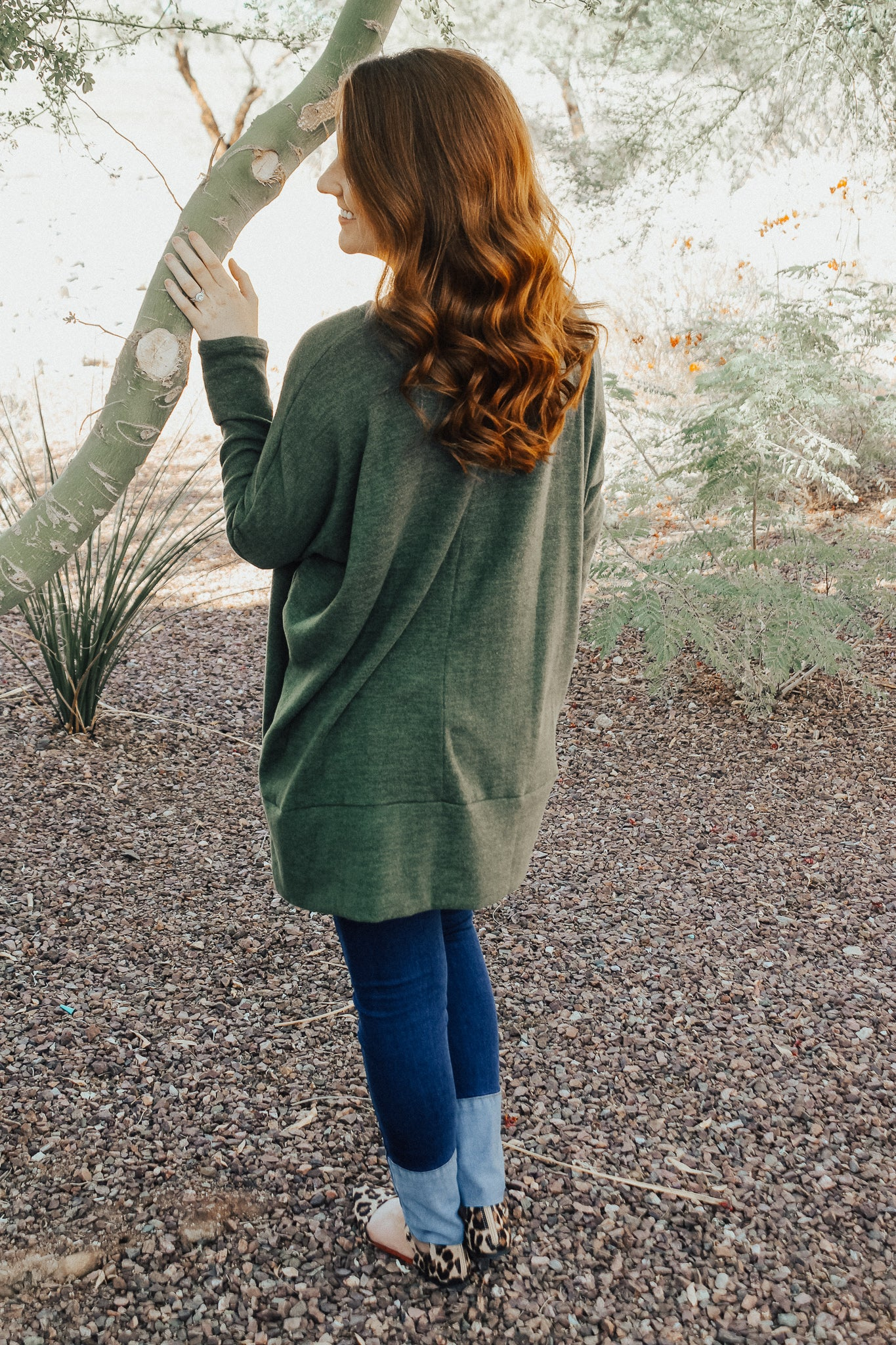 Madelyn Green Sweater