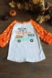 Meet Me At The Pumpkin Patch Kids Shirt