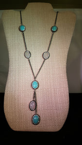 "30"" Long Stone Necklace!"
