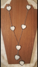 Heart Station Long Necklace