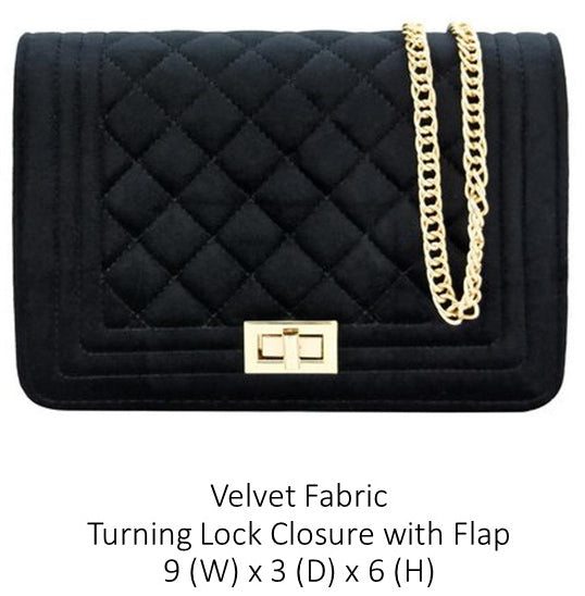 A Velvet Designer Inspired Purse
