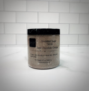 Dark Chocolate Orange Sugar Scrub