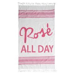 Rose All Day Beach Towel and Bag