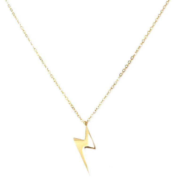 Lightening Bolt Necklace 16""