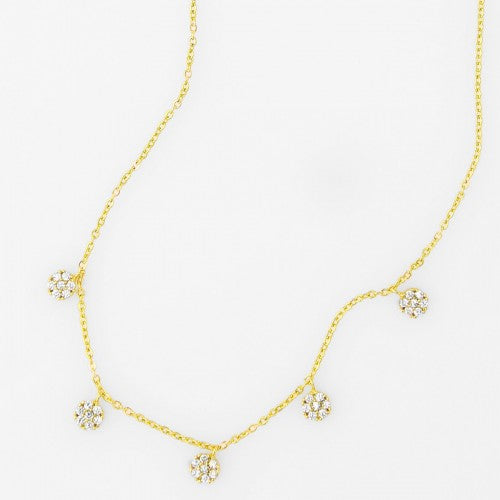 Multi Circle Dainty Necklace