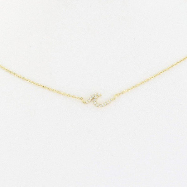 Mini Ocean Wave Necklace