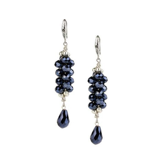 Cluster Bead Dangle Earring