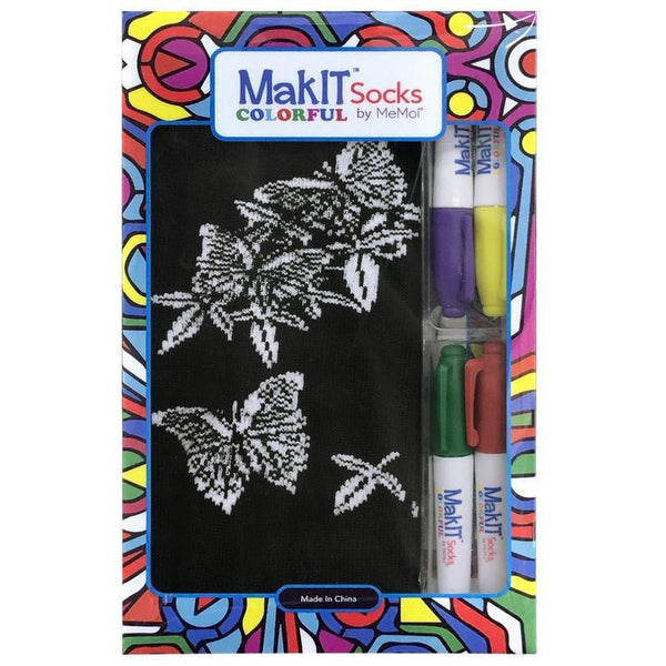 MakIt Colorful Socks Kit