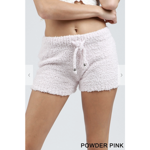 Powder Pink Lounge Shorts