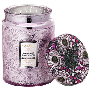 Voluspa Japanese Plum Bloom Candle 18oz