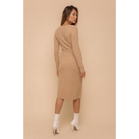 Bodycon Midi Sweater Dress
