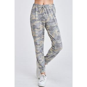 Camo Print Lounge Jogger Bottoms