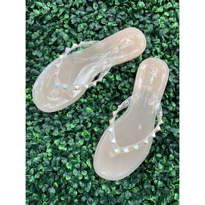 Hero Jelly Sandal in Blush
