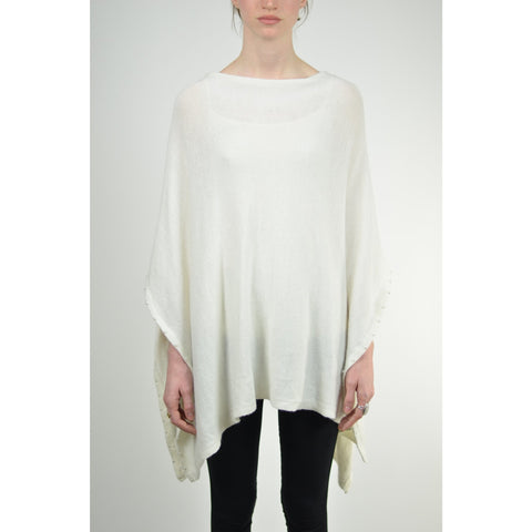 Pearl Detailed Poncho