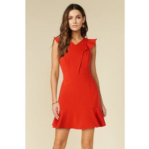 Rebecca Dress in Red